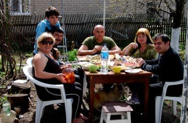 ukrainian easter week long celebration of booze and food