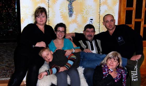 my closest ukrainian friends/family. everyone looks so happy here! lol