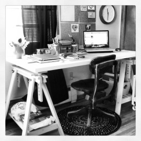 my lovely lovely workspace
