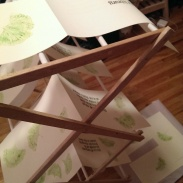 drying pages