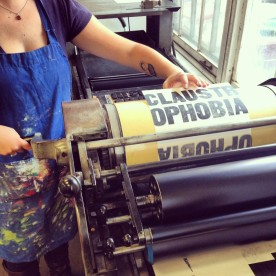 Vandercook in action