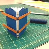 slotted tape binding (a mini book!)